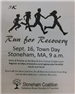 Run for Recovery 5K Flyer