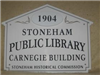 Public Library Historic House Marker Sign