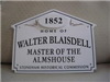 72 Elm Street Historic House Marker Sign