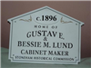 181 Central Street Historic House Marker Sign