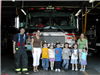 Children Receive a Tour of the Stoneham Fire Station