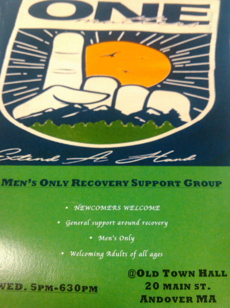 Mens Only Recovery Support Group Information
