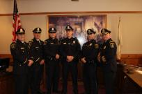 Swearing In Ceremony: Officer Murphy, Officer Prudente and Officer Russell