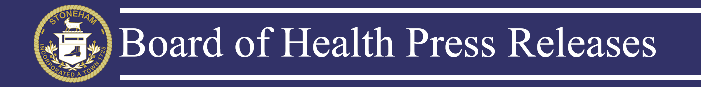 Board of Health Press Releases