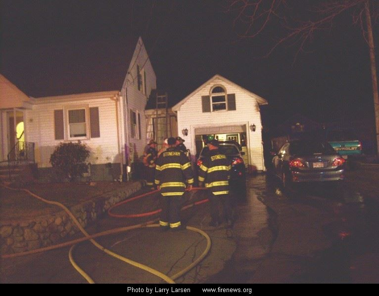 Two Alarm Fire on Cherry Avenue