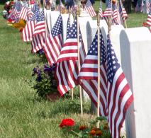 Tombstones and Flags